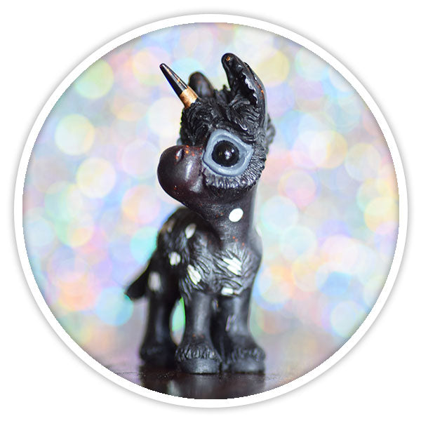 Charcoal Donkicorn