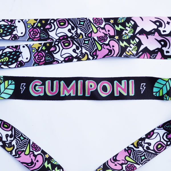 "GumiPoni ""Grumps and Grims"" Lanyard"