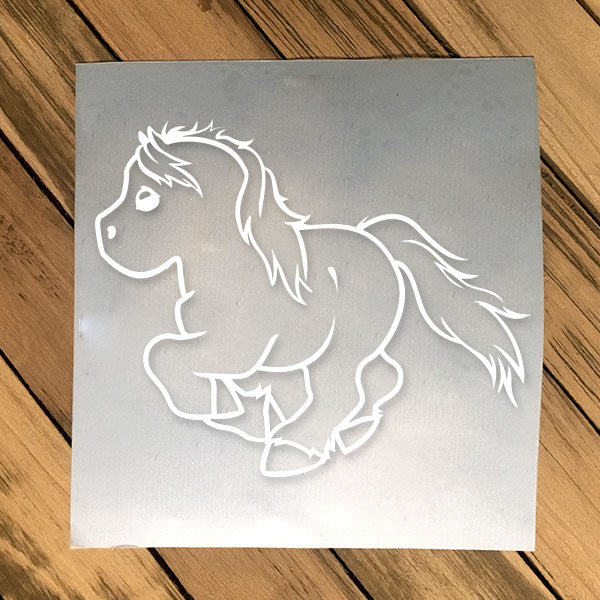 Galloping Decal