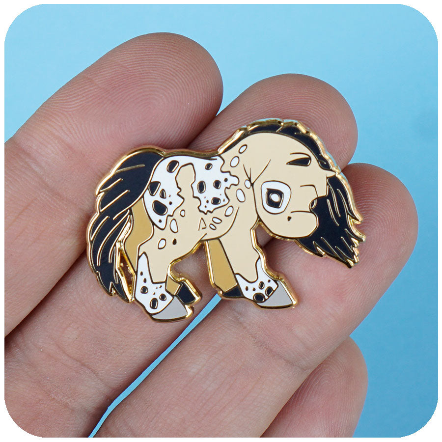 """Morning Queen"" GumiPoni Enamel Pin. Limited run."