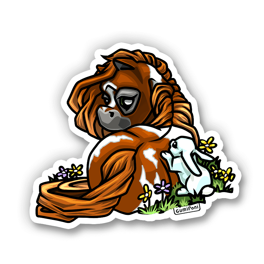 """Bunny"" April 2020 Sticker"