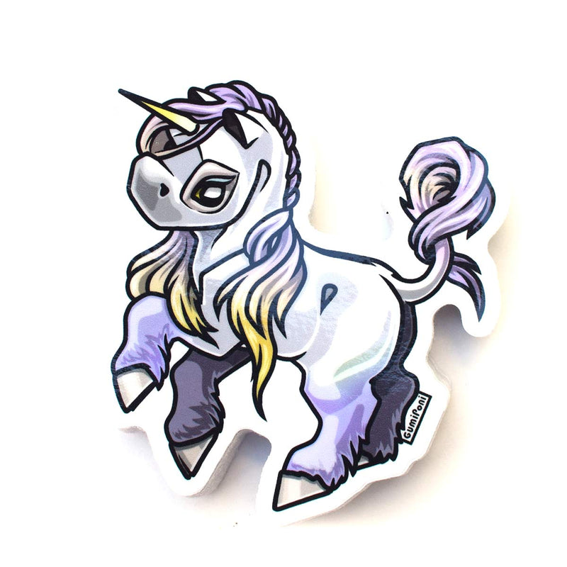 """Grulla Pegacorn"" December 2019 Sticker"