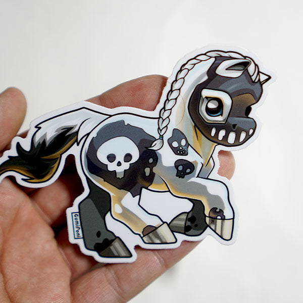 """Skully"" October 2018 Sticker"