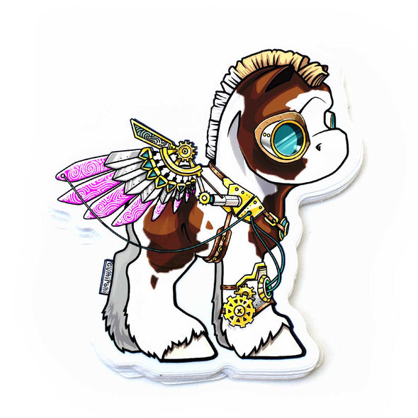 """Steampunk"" Sticker"