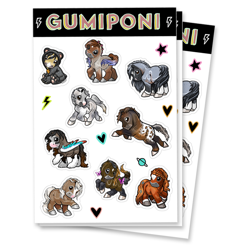 GumiPoni Sticker Pack