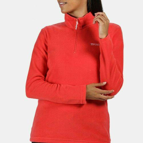 Womens Regatta Sweetheart Half Zip Micro Fleece