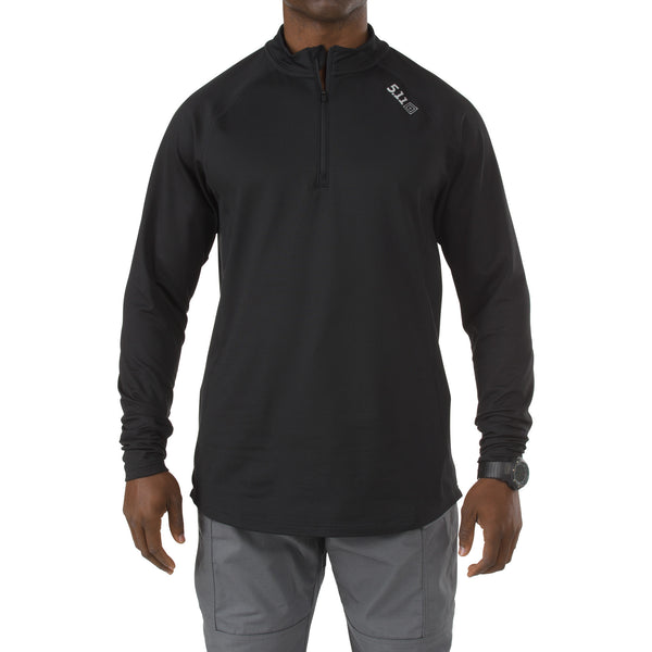 Sub-Z Quarter-Zip in Black