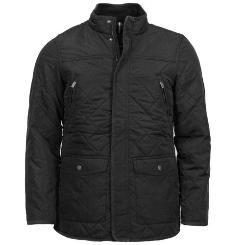 Mens Diamond Quilted Fleece Lined Jacket