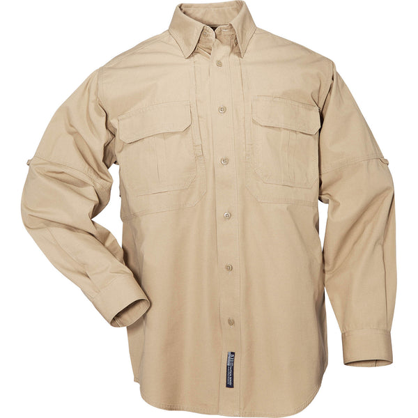5.11 Tactical Shirt - Long Sleeve, Cotton in Coyote