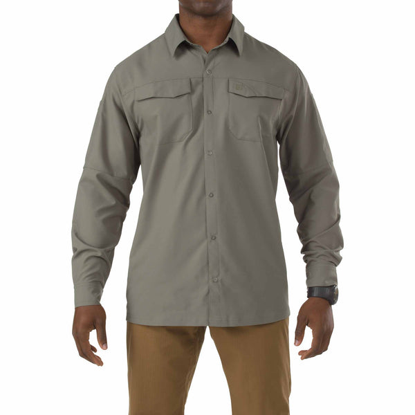 Freedom Flex Woven Shirt - Long Sleeve