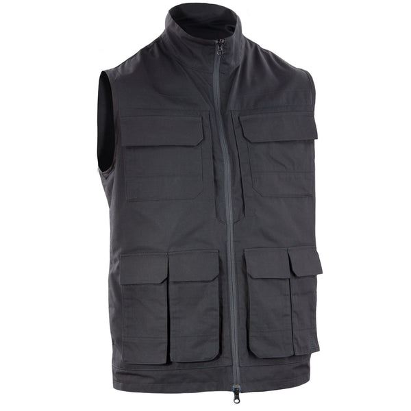 Range Vest in BATTLE BROWN