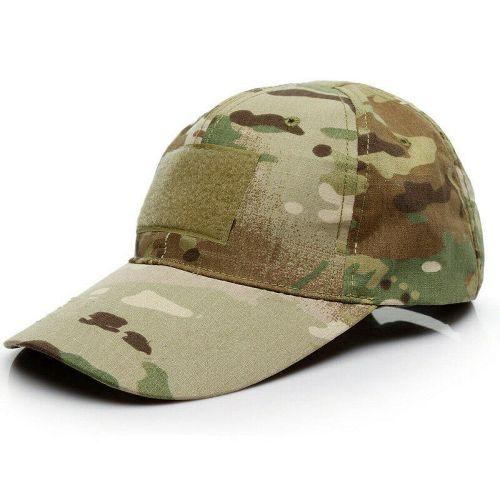 Mens Tactical Army Camo Baseball Cap