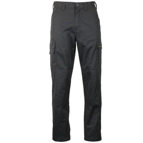 Mens Cargo Combat Hard-Wearing Twill Work Trousers