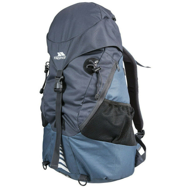 Unisex 45L Trespass Inverary Travel Backpack Hiking Bag