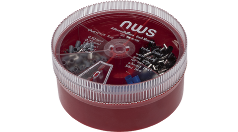 NWS 144-BI-400 Assortment of End-Sleeves