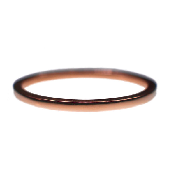 9ct Rose Gold Polished Obsession Ring
