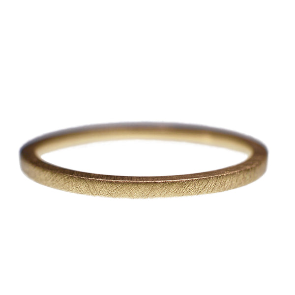 9ct Yellow Gold Satin Obsession Ring