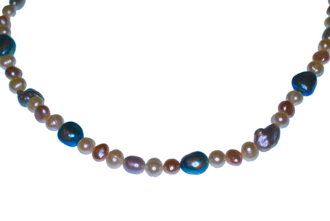 Portrait Freshwater Pearl Necklace