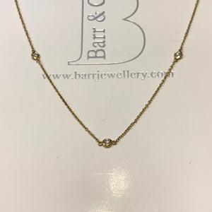 18ct Gold Diamond Necklace