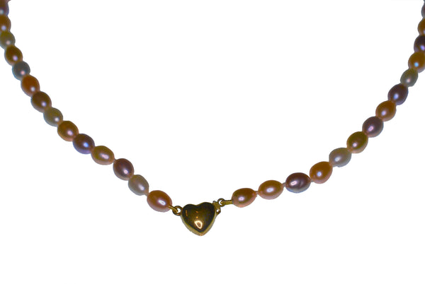 Pastel Freshwater Pearl Necklace