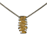 Shore Silver & Gold Plated Pendant