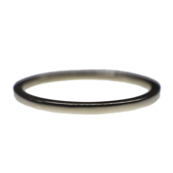 Silver Polished Obsession Ring