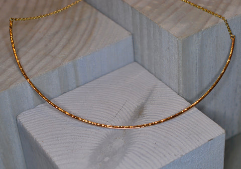 9ct Yellow Gold Obsession Necklace