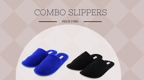 COMBO SLIPPERS