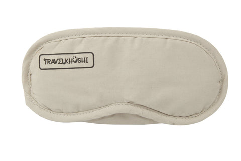 sleeping mask travelkhushi Cream front view at Rs 199