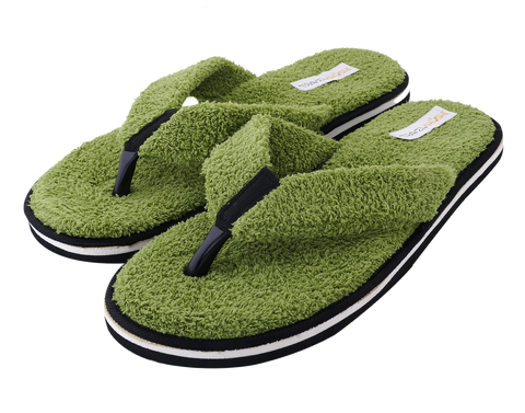 Travelkhushi Grass Memory Foam Flip Flops & Slippers for Men