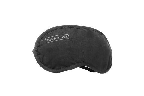sleeping mask black  front view from  travelkhushi  at Rs 199