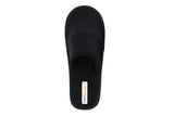 Travelkhushi black Closed Toe Indoor Slippers back view