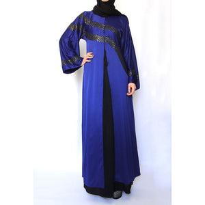Waves Satin Abaya-Abaya-Lana Lik Clothing