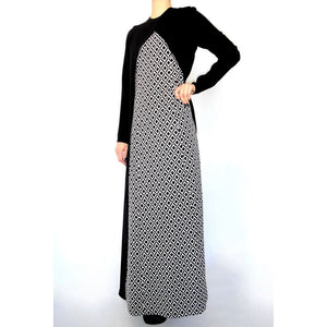 Cape Maxi Dress-Dress, Abaya-Lana Lik Clothing