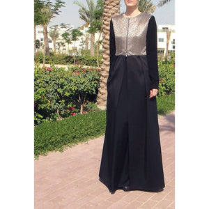 Satin Abaya-Abaya-Lana Lik Clothing