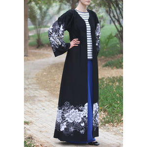 Fleur Abaya-Dress, Abaya-Lana Lik Clothing