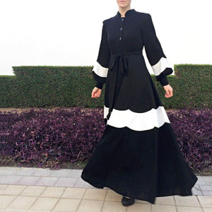Daisy Dress – Black-Dress, Abaya-Lana Lik Clothing