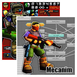 Cartoon Soldier Pack Bundle
