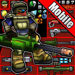 Cartoon Soldiers and Weapons Pack