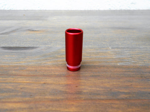 Aluminium red/crimson vaping 510 drip tip