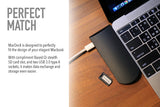 MacDock USB Type-C Hub with BaseQi Ninja Stealth SD Slot