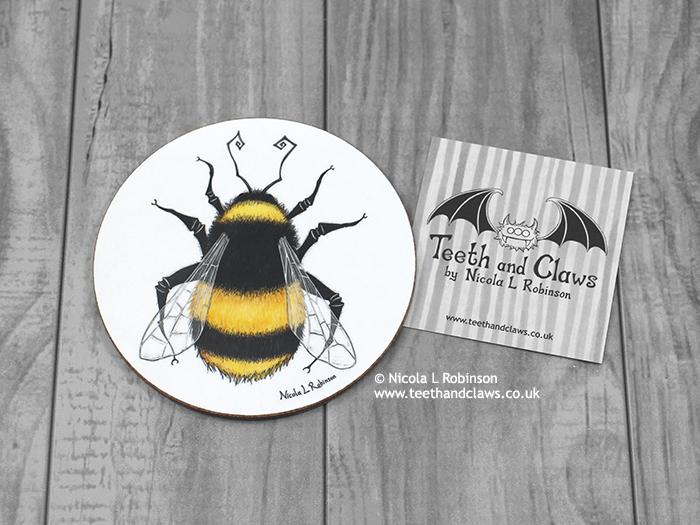Bee Coaster - Bumble bee