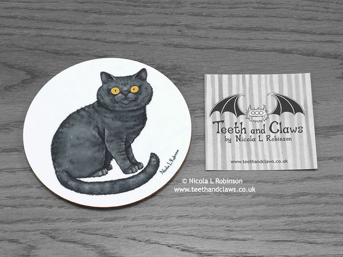 Cat Coaster - British Shorthair Cat