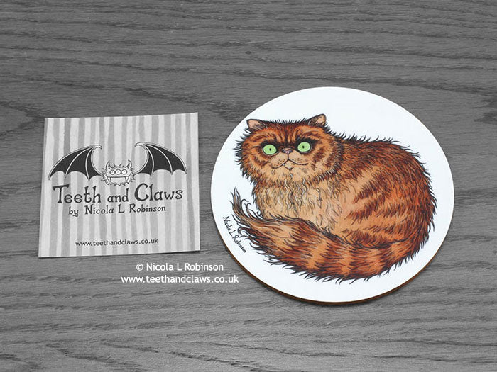 Cat Coaster - Persian Cat