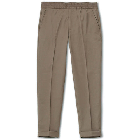 Filippa K Terry Cropped Trousers Grey Taupe
