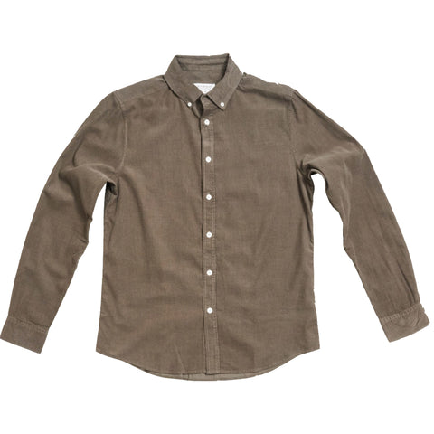 Atlanta Corduroy Shirt · Army