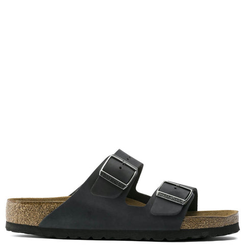 Arizona Oiled Leather Black BIRKENSTOCK