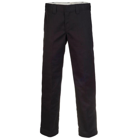 873 Slim Straight Work Bukser · Black