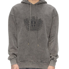 Artwork Faded Hoodie · Grå