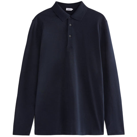 Luke Lycra Polo Shirt Navy